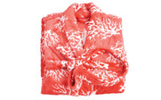 Ardre Coral Flannel Fleece Bath Robe Folded