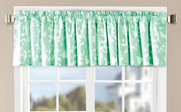 Birdsong 2 Piece Valance Set Teal