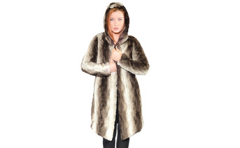 Claire Faux Fur Coat 1