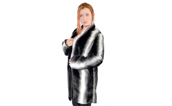 Meerkat Faux Fur Coat 1