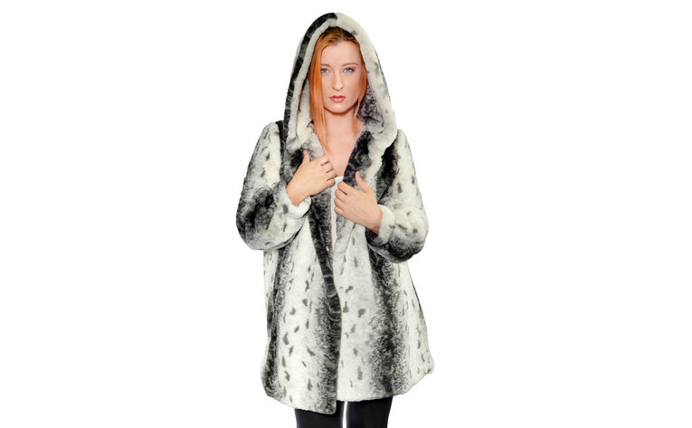 Citraka Faux Fur Coat