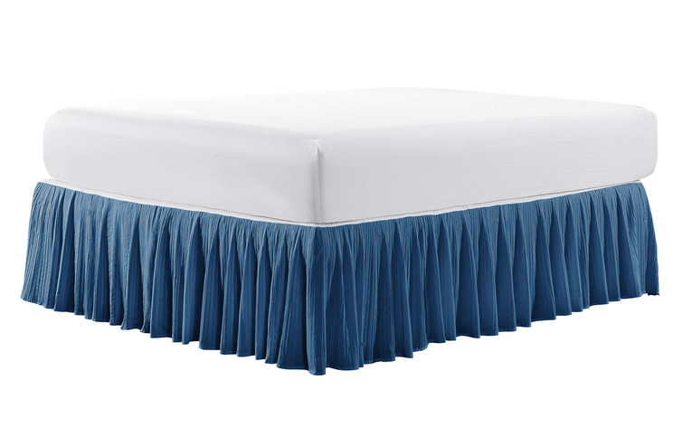"Diamond Square 18"" Bed Skirt"