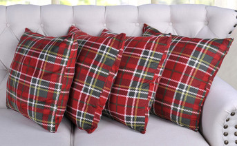 Christmas 4 Piece Pillow Shell Set