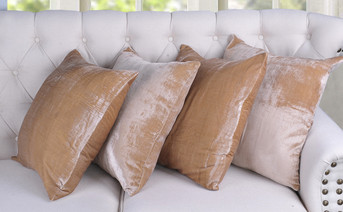 Velvet Rayon Pillow Shell - Amphora