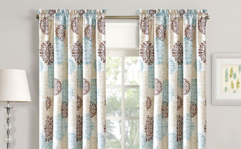 Marina Medallion Curtain Set