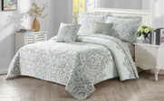 Visionary 5 Piece Quilt Bedspread Sets Angle