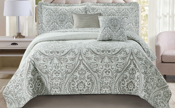 Visionary 5 Piece Quilt Bedspread Sets
