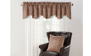 Branch Jacquard Valance and Pillow Shell Sets