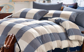 Buffalo Washed Cotton Duvet Cover Set