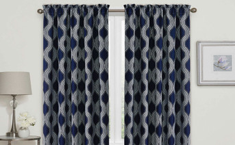 Charleston Curtain Set