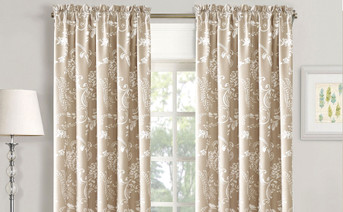 La Boheme Curtain Set Taupe
