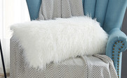 Mongolian Faux Fur 2 Piece Pillow Shell Set