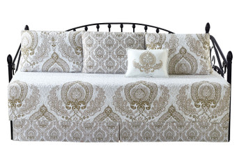 Heart Damask 6 Piece Daybed