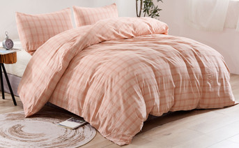 Kolkata Washed Cotton Duvet Set