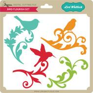 Bird Flourish Set