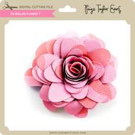 PE Rolled Flower 7