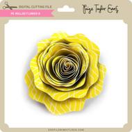 PE Rolled Flower 8