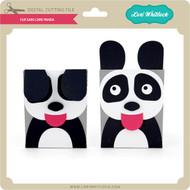 Flip Ears Card Panda