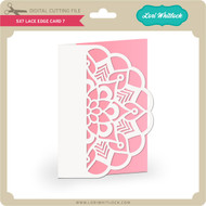 5x7 Lace Edge Card 7