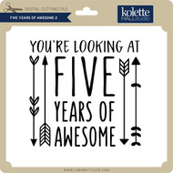 Five Years of Awesome 2
