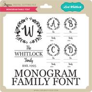 Monogram Family Font
