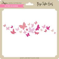 Butterflies Border