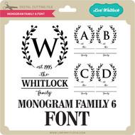 Monogram Family 6 Font