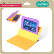 Sliding Gift Card Holder