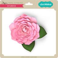 3D Flower 38