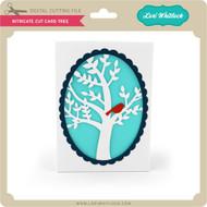 Intricate Cut Card Tree