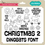 Christmas 2 Dingbats Font