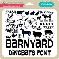 Barnyard Dingbats Font