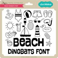 Beach Dingbats Font