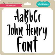 John Henry Font