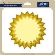 Nesting Badge Label