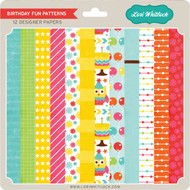 Pattern Fill Set Birthday Fun