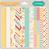 Pattern Fill Set Happy Day