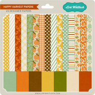 Pattern Fill Set Happy Harvest