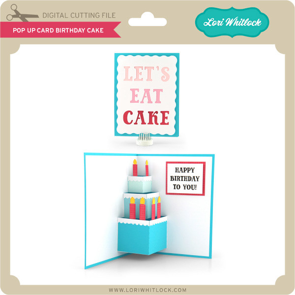 Prime Pop Up Card Birthday Cake Lori Whitlocks Svg Shop Funny Birthday Cards Online Inifofree Goldxyz