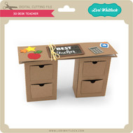 3D Desk Teacher