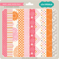 Pattern Fill Set Mary Jane