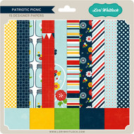 Pattern Fill Set Patriotic Picnic