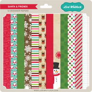 Pattern Fill Set Santa & Friends