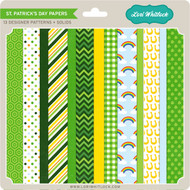Pattern Fill Set St Patrick's Day