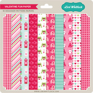Pattern Fill Set Valentine Fun