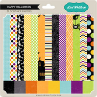 Pattern Fill Set Happy Halloween