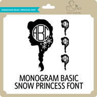 MonogramBasic Snowprincess Font