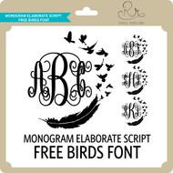 MonogramElaborateScript Freebirds Font