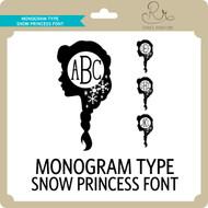 MonogramType Snowprincess Font