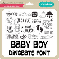 Baby Boy Dingbats